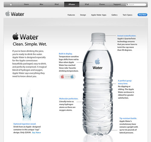 Apple Water - Drink Different
