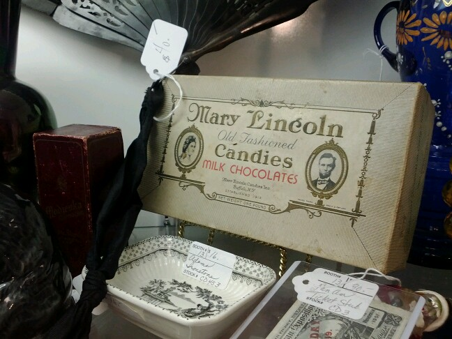 antique candy box