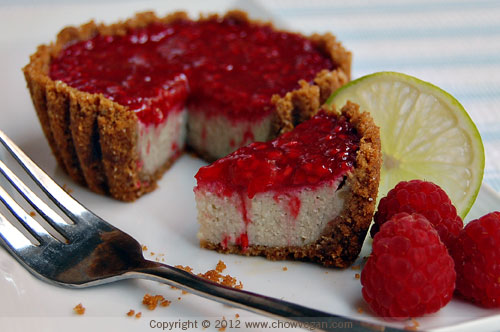 Raspberry Lime Cheesecake