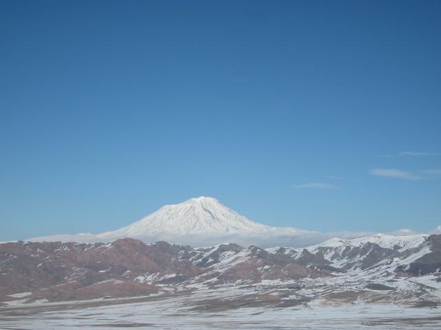 Mt Ararat from Tendurek Pass