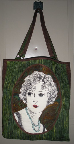 Finished Cameo tote
