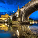 Under Ponte Sant'Angelo – (Rome, Italy)