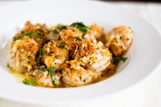 The World S Best Baked Shrimp Scampi
