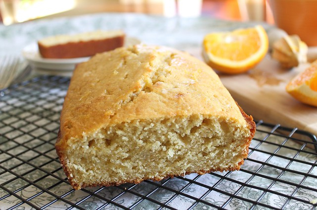 Moist Orange Pound Cake