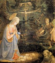 Fra Filippo Lippi (1463), La Virgen María y el Niño Jesús