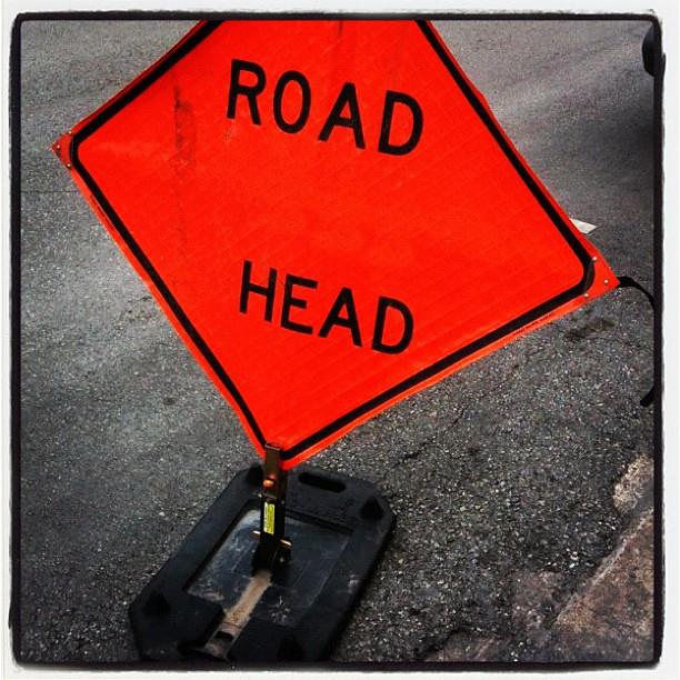 Road Head De Sign Lunchwalk Flickr Photo Sharing