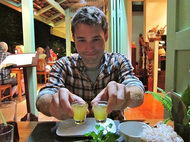 """Adventurous"" Dinner at Tamarind, Luang Prabang, Laos"
