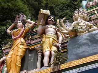 Sri Mahamariamman Indian Temple (Kuala Lumpur, Malaysia 2003)
