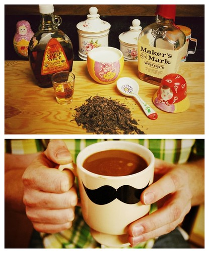 maple bourbon hot chocolate