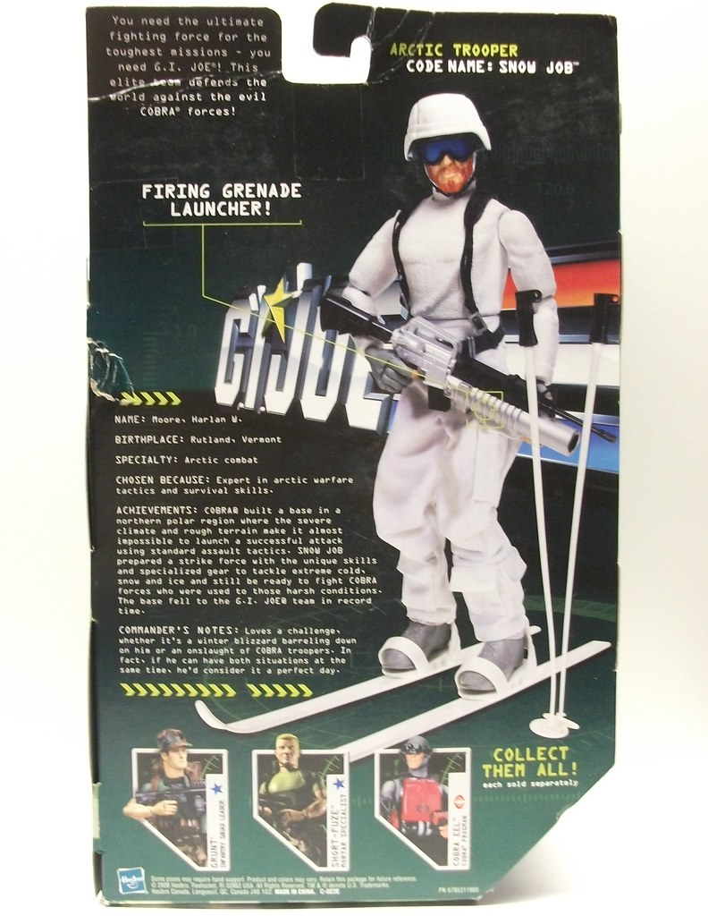 Ski Trooper 1//6 Scale SOW Action Figures Snow Skis and Poles