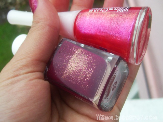Pastel 35 , Flormar Miracle Color U05 (2)