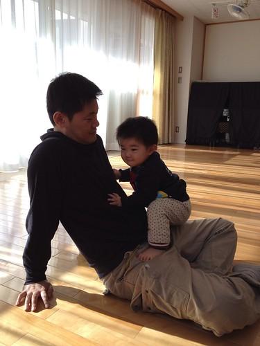 子育て支援センターにて(2012/1/15)