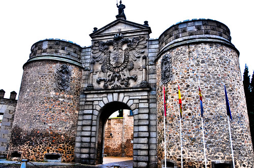 Puerta de Bisagra (Bisagra Gate) - Toledo Spain