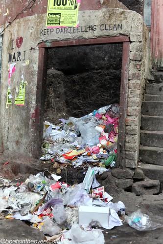Keep Darjeeling Clean.