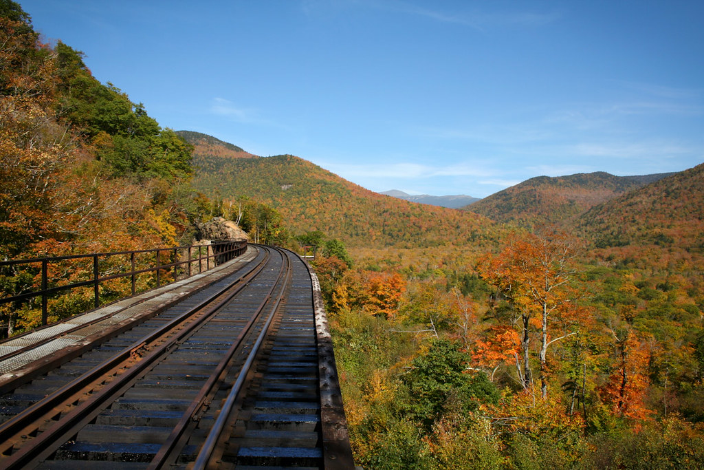 Frankenstein Trestle, Crawford Notch State Park, New Hampshire