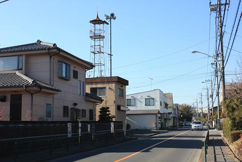 川口の火の見櫓(八王子市)
