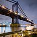 The Manhattan Bridge by RBudhu
