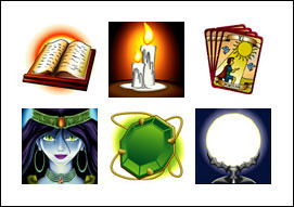 free The Oracle slot game symbols