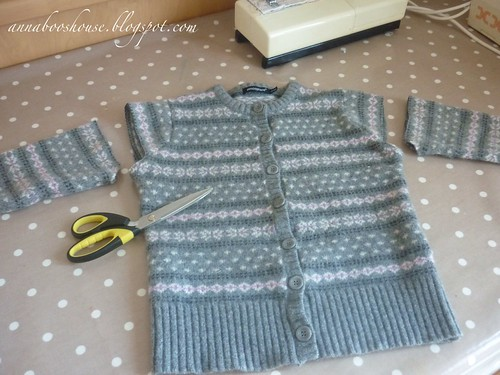 More Sweater up-cycling!