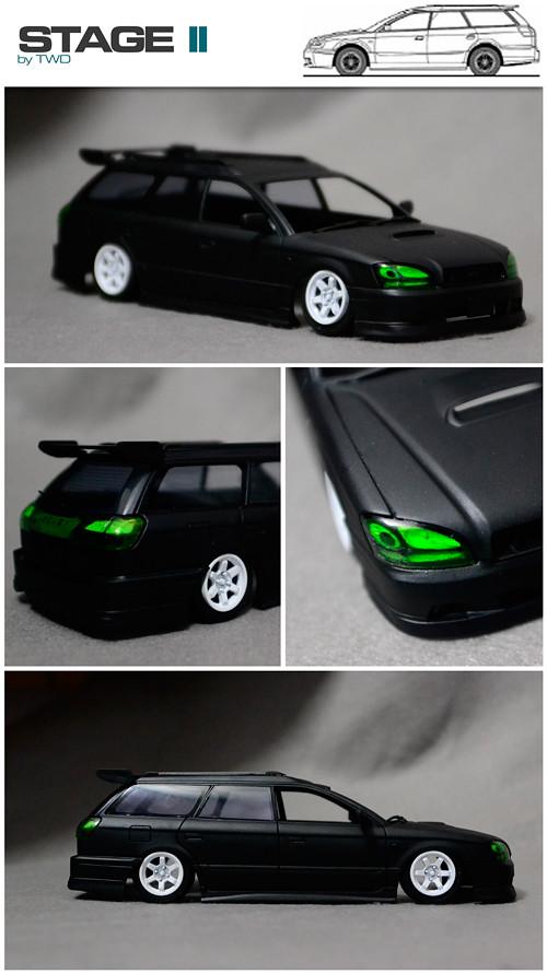 Subaru Legacy Touring Wagon GT-B WIP STAGE 2