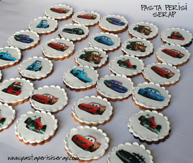 cars cookie