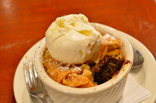 Apple Raisin Strudel