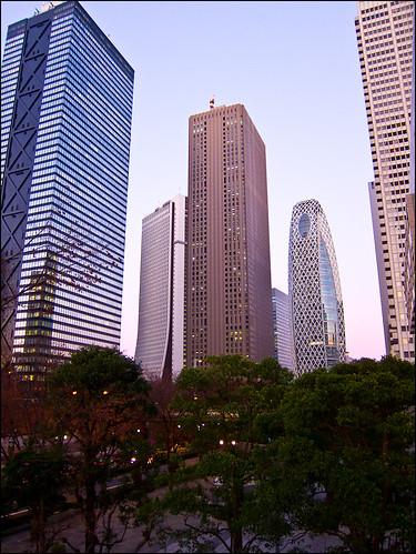 Rascacielos de Shinjuku