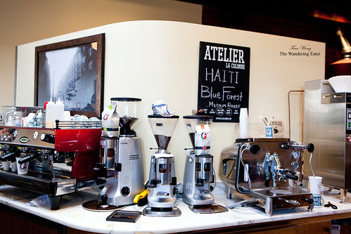 Burr grinders and two different espresso machines