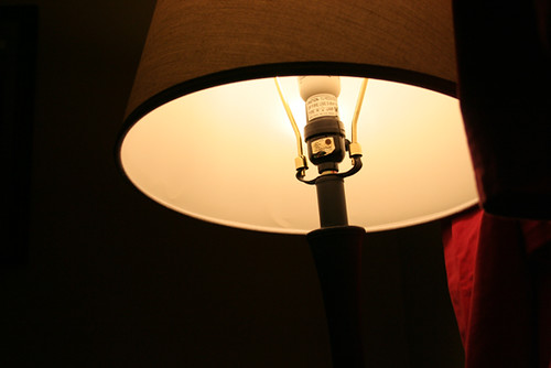 01/21/12 {reading by lamplight}