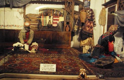 Tradicionális török lakásban