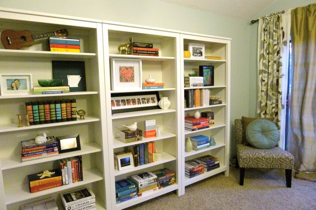 Bookcases with Chair