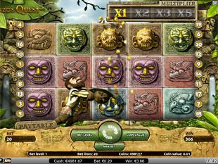 Gonzo's Quest bonus game