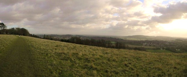 Steers Hill with view