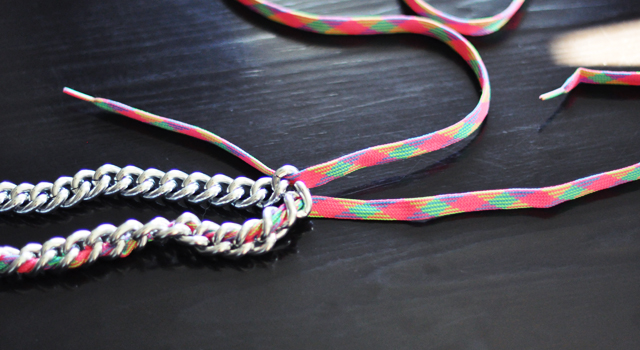 neon chain necklace diy-6