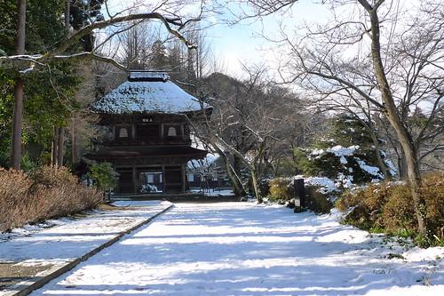 冬の広徳寺