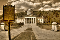 Montpelier VT. - Vermont State House Capitol 09