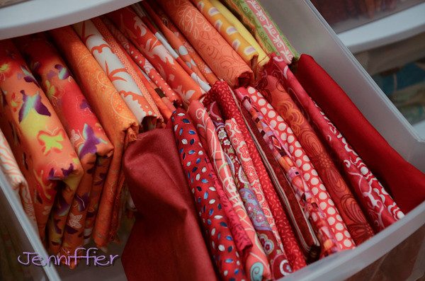 Warm fabric drawer
