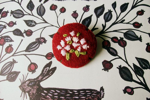 embroidery brooch 5