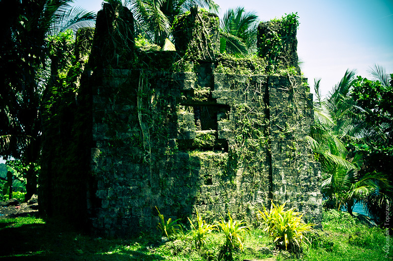Old Church Ruins, Bonbon