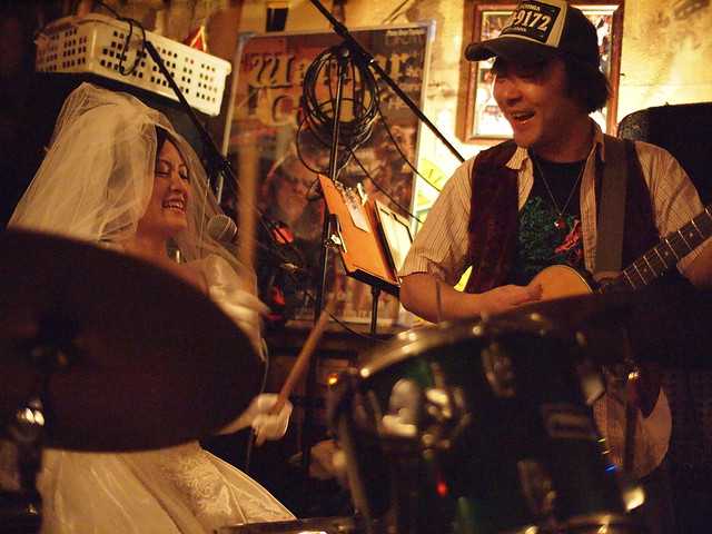"The Warrior Celt ""just married"" session, Tokyo, 28 Jan 2012. 158"