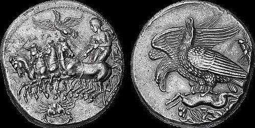 Decadrachm of Akragas