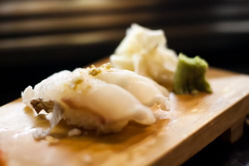 Snapper Sushi at Kaito