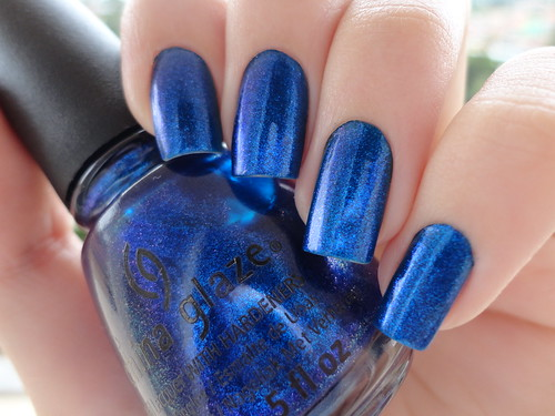Blue Year's Eve, China Glaze