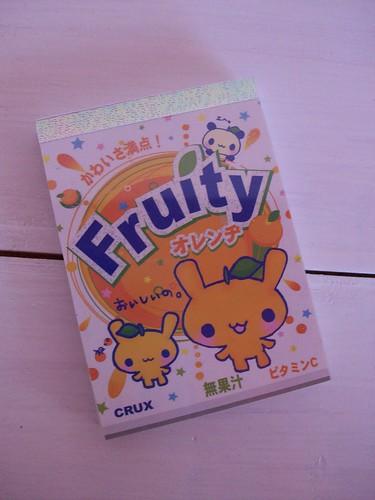fruity mini memo