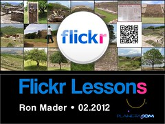 Flickr Lessons for 2012