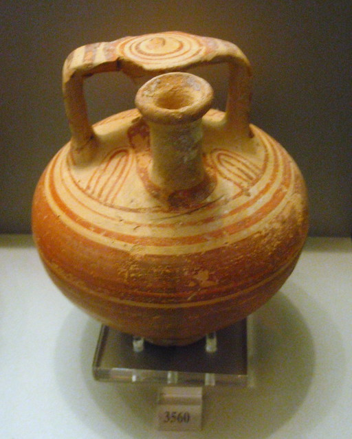 Stirrup jar from Nafplio