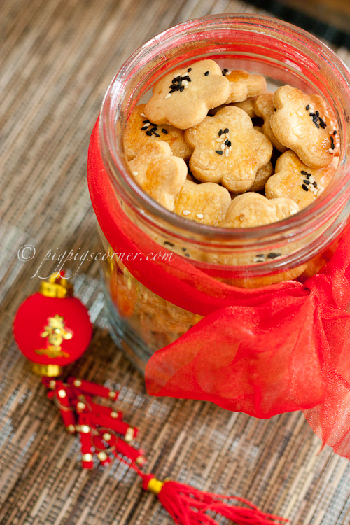 Salted Egg Yolks Cookies