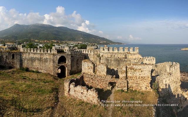 Anamur, Mamure castle, panorama