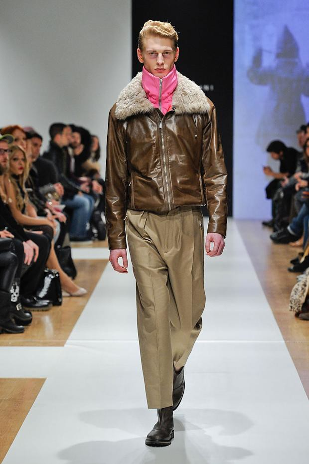 Diederik Van Der Lee3163_3_FW12 Milan Gazzarrini(Homme Model)