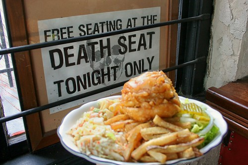 #32 Death Seat Burger Platter #photo365